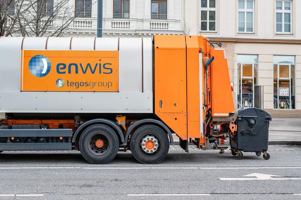 enwis) von tegos für Entsorgung und Recyclingbetriebe in Österreich