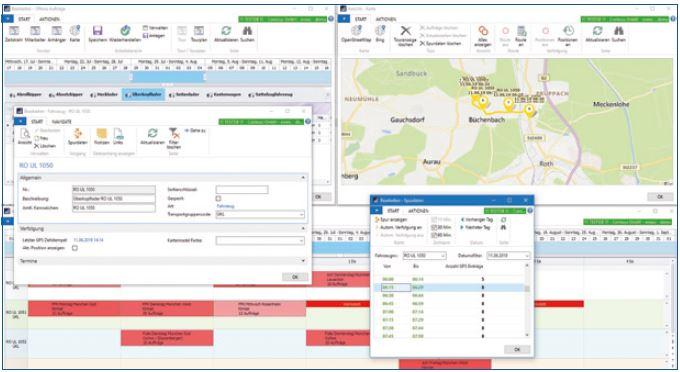 Entsorgungssoftware - Grafische Dispo mit enwis